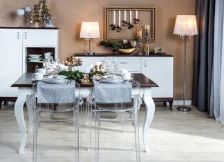 Eleganckie meble do salonu w stylu klasycznym
